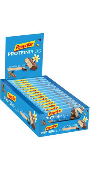PowerBar Protein Plus Low Sugar Sportvoeding met basisprijs Chai Latte Vanilla 30 x 35g